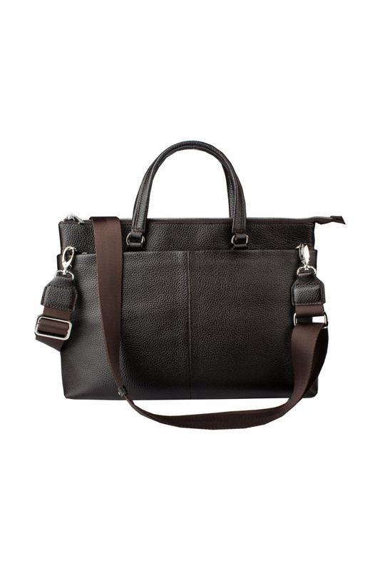 Сумка-портфель женская Dimanche 287_2F коричневая фото