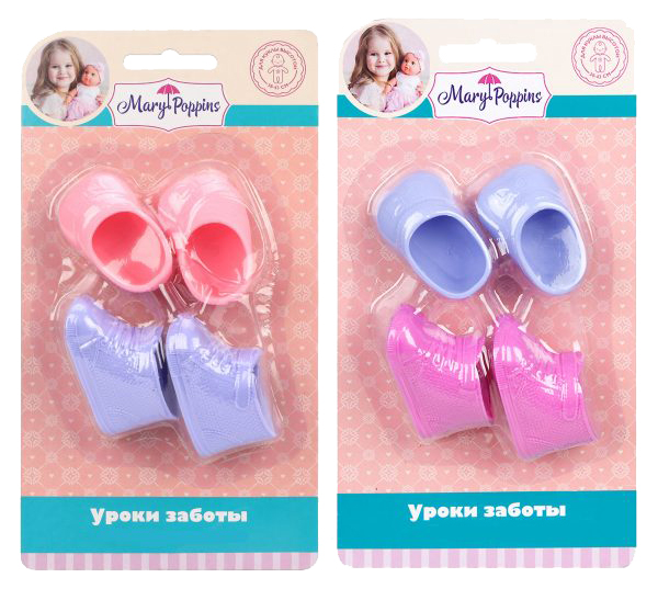 Купить Mary Poppins Набор аксессуаров для кукол Mary Poppins Ботиночки и туфли,