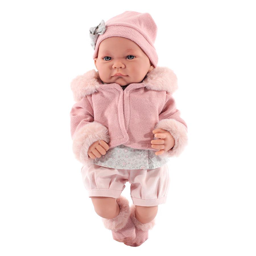 Кукла Antonio Juan Наталия в розовом 40 см