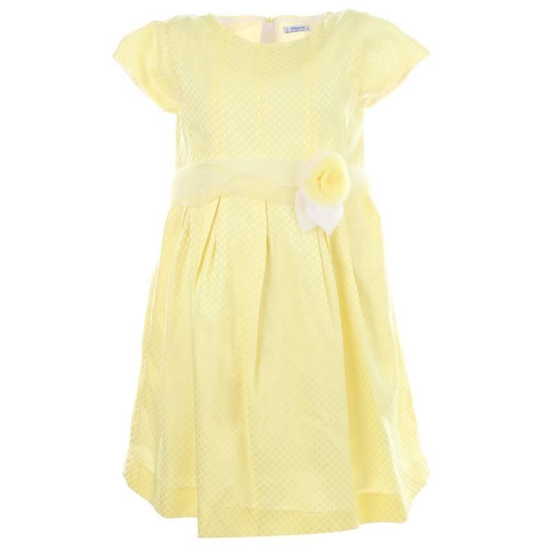 Купить Платье MAYORAL, цв. желтый, 128 р-р, Детские платья и сарафаны