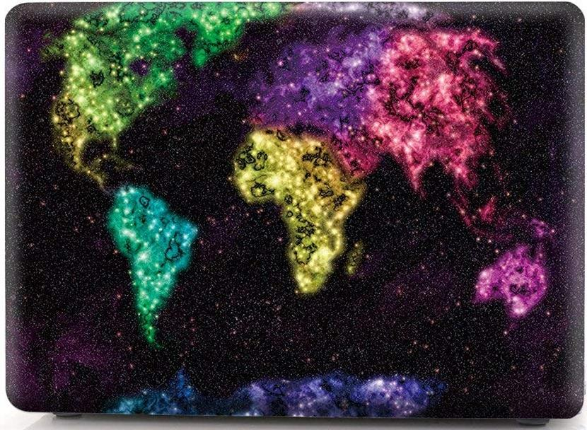 Накладка i-Blason Cover для MacBook Pro 15 Retina (Creative World Map) фото