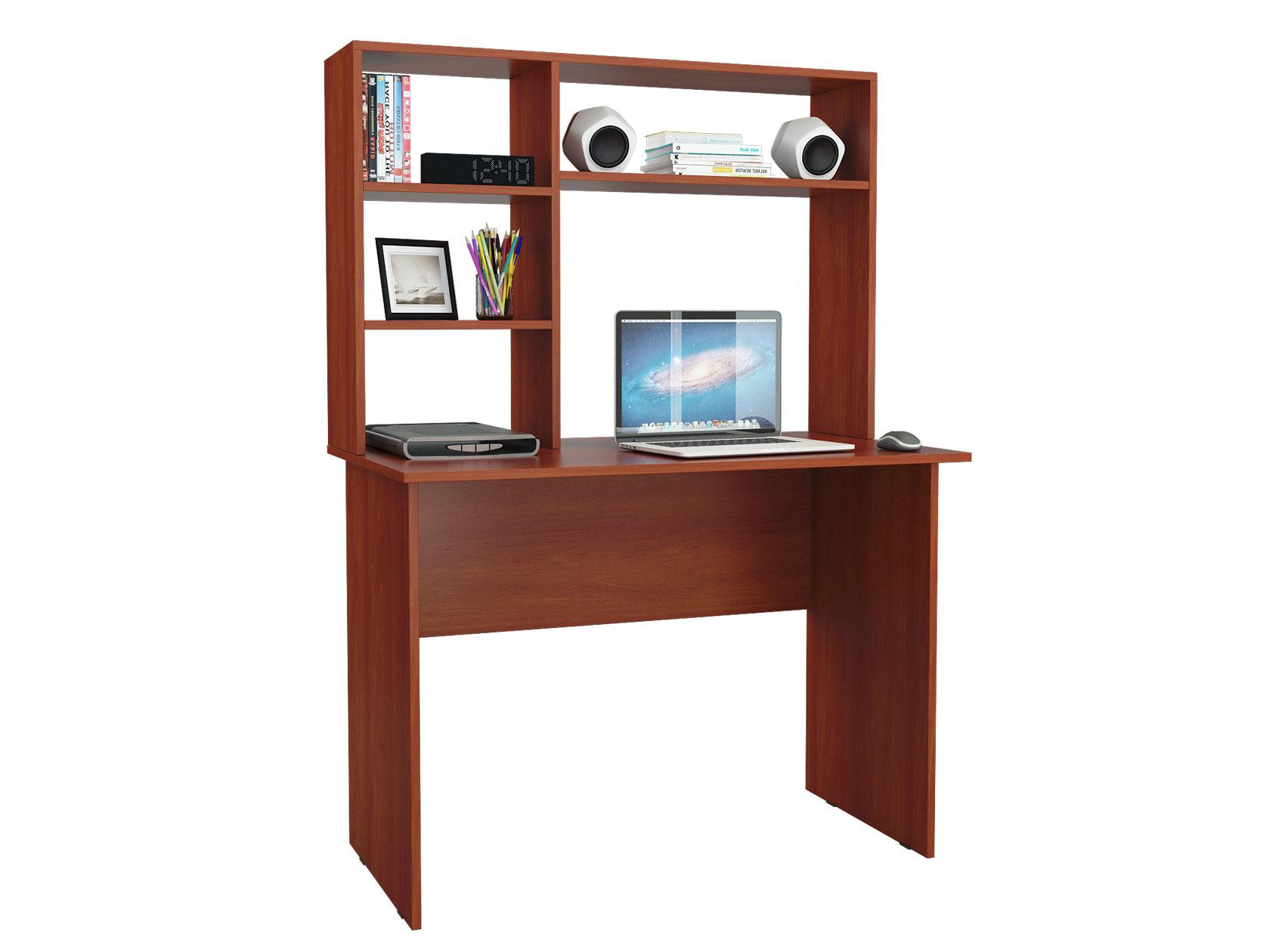 Компьютерный стол МФ Мастер Милан-5 110x60x145, орех итальянский