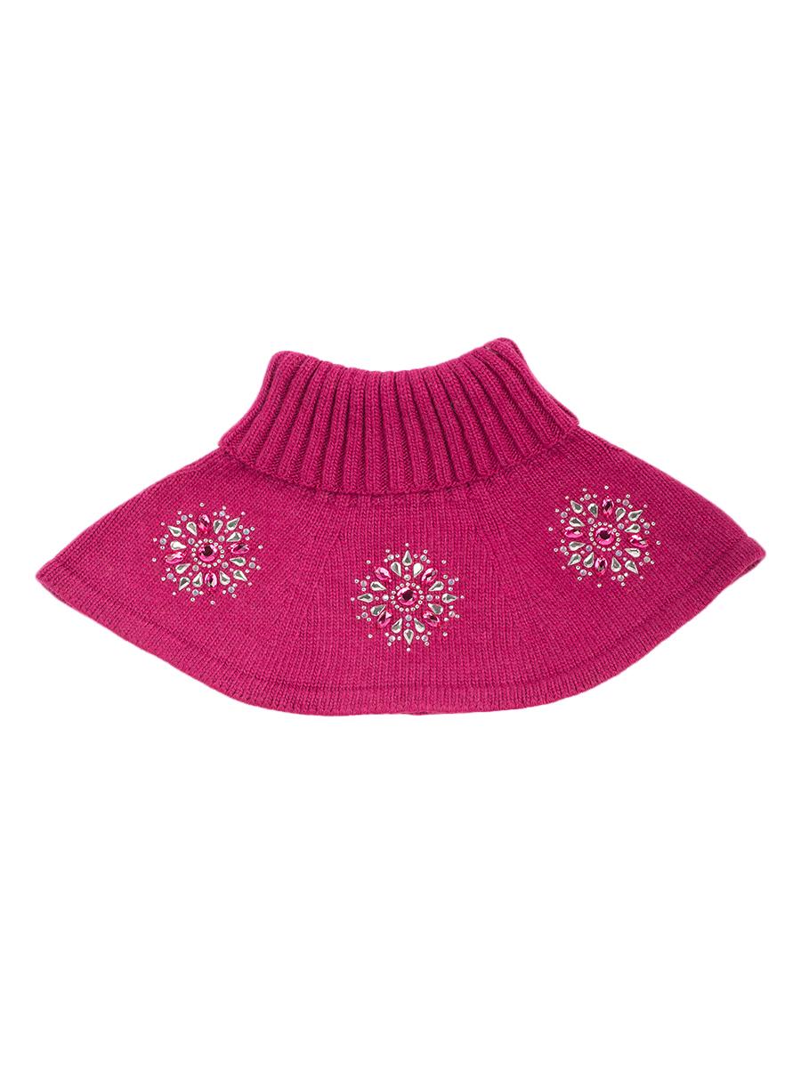 Купить Шарф-воротник детский ALEKSA р. 27-33 цв. вишневый, Детские шапки и шарфы