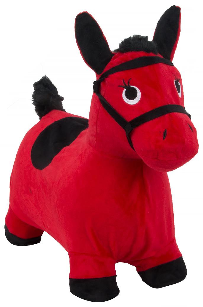 Купить Игрушка-попрыгунчик Лошадка , красная, Shantou Gepai, Прыгунки для детей