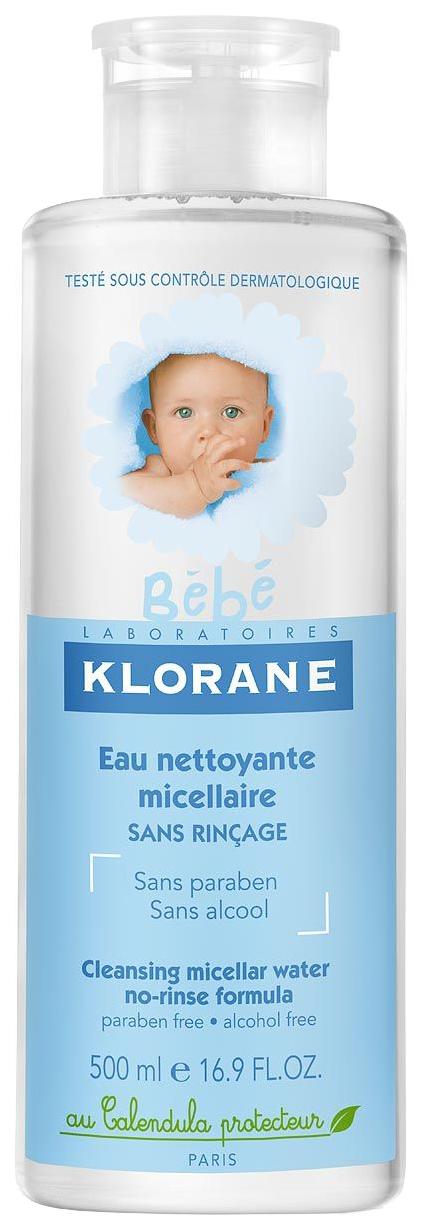 Детская очищающая вода Klorane 500 мл