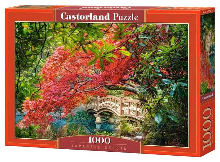 Купить Пазл Castorland Японский сад C-103768 1000 элементов, Пазлы