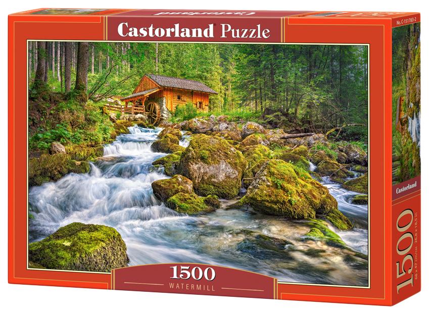 Купить Пазлы Castorland Водяная мельница С-151783 1500 деталей