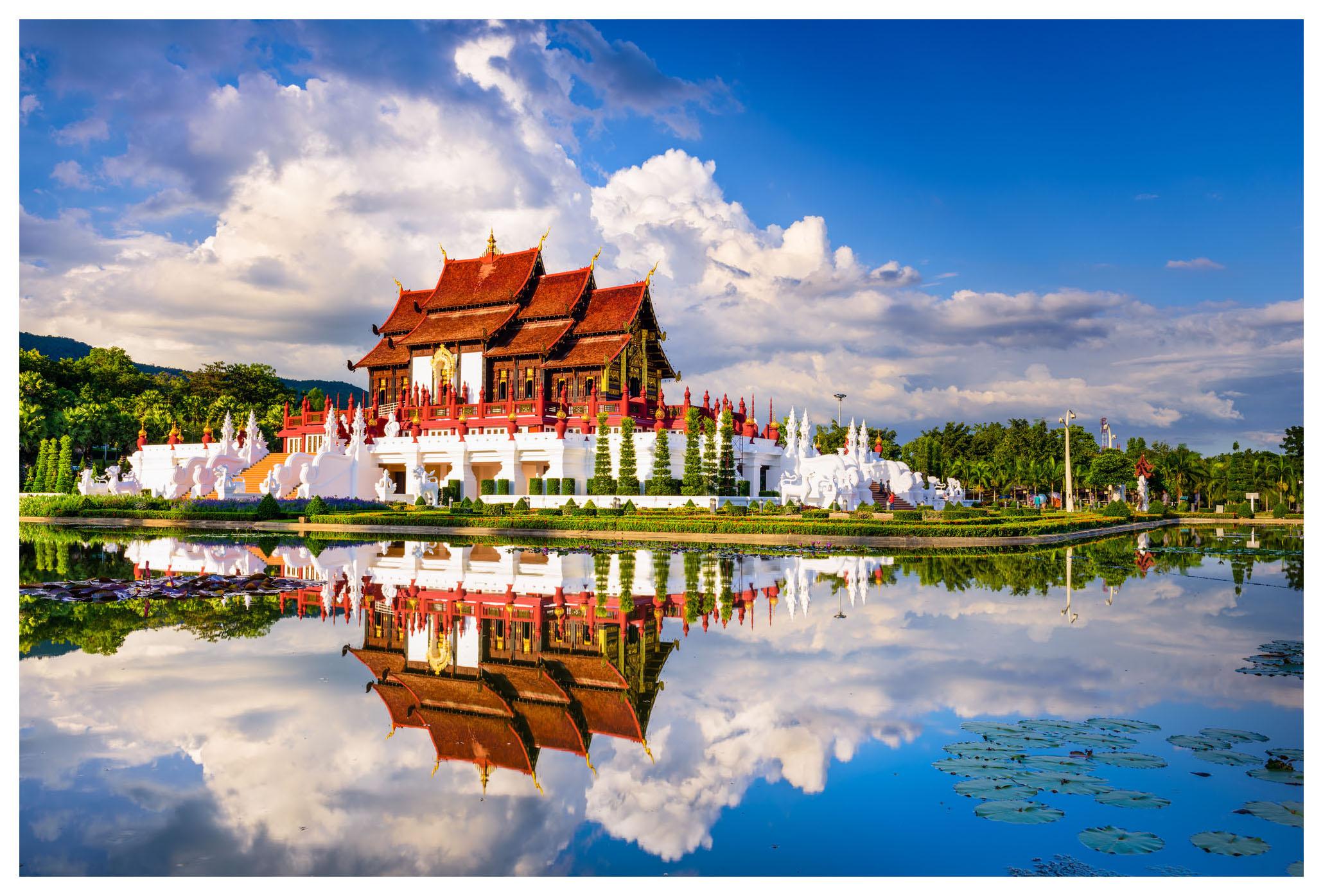 Пазл Konigspuzzle Таиланд Парк в Чиангмаие ГИК1000-8242 1000 деталей