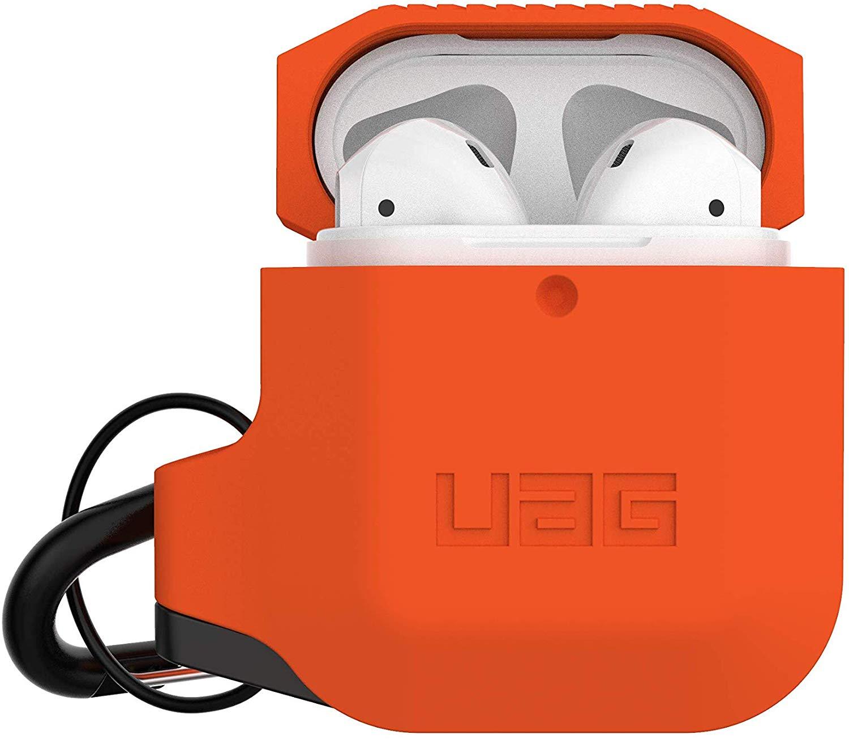 Чехол Urban Armor Gear Silicone Case для AirPods Orange/Grey