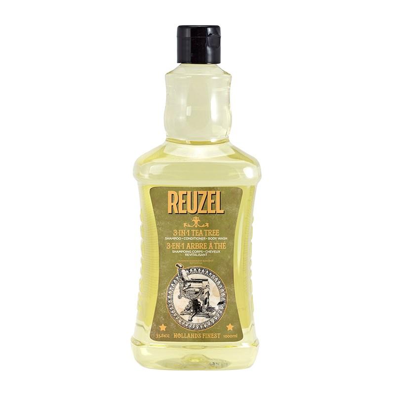 Купить Шампунь для волос Reuzel 3 в 1 Tea Tree Shampoo 100 мл