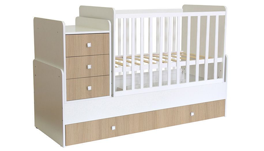 Кроватка трансформер Polini kids Simple 1111