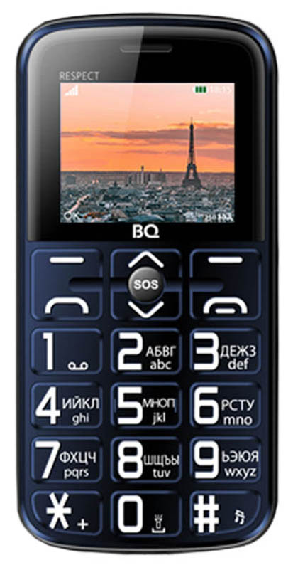 Мобильный телефон BQ 1851 Respect Blue фото