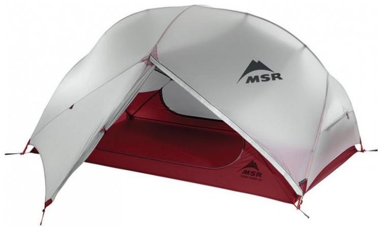 Палатка MSR Hubba NX одноместная серая