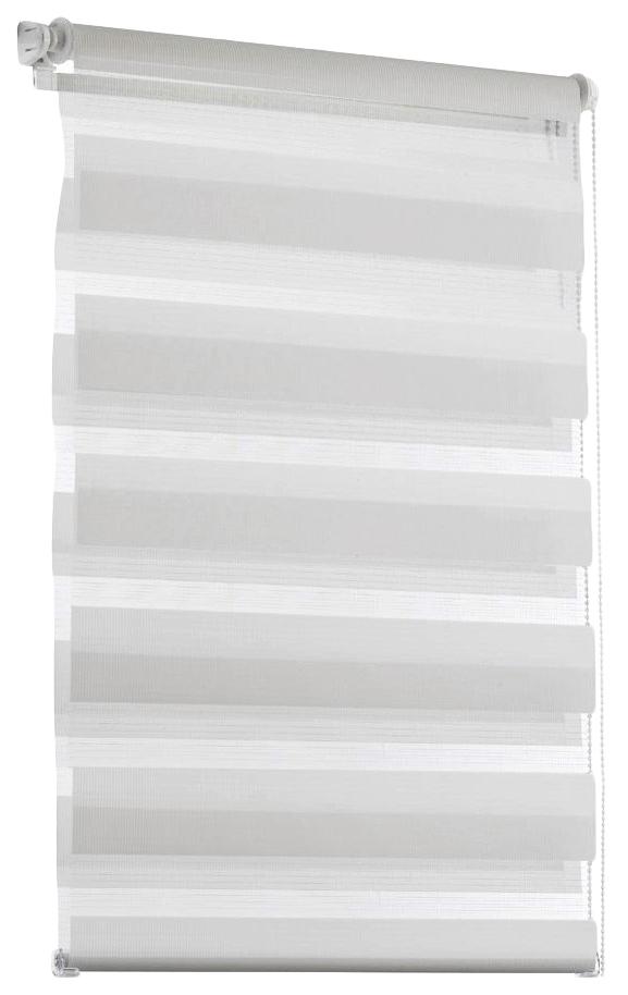Рулонная штора Эскар День-Ночь 170х80 цвет белый