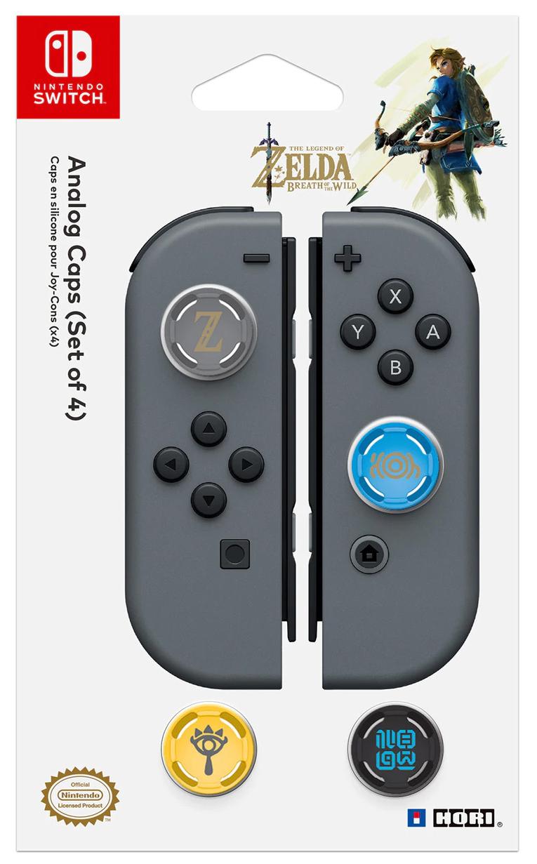 Сменные накладки Hori Zelda Analogue Caps