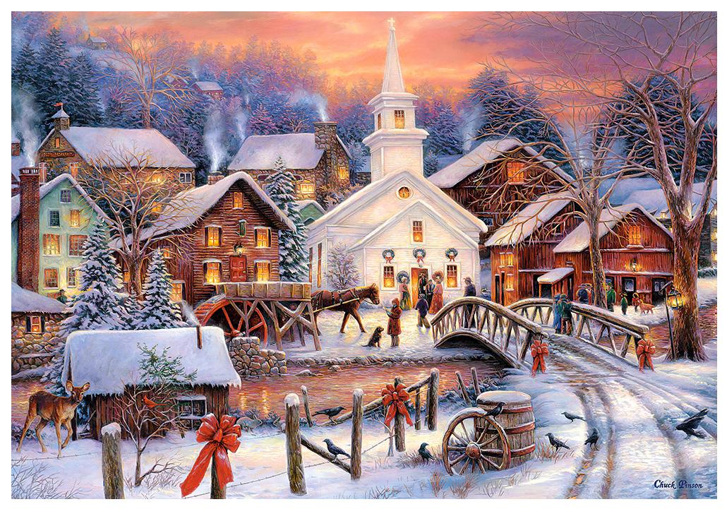 Открытка сложные, зимние пейзажи и открытки