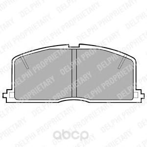 Колодки тормозные Delphi LP460 фото
