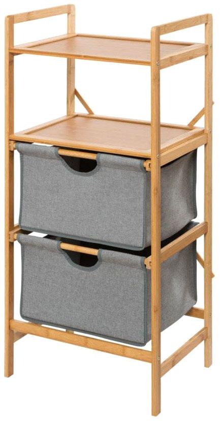 Этажерка для белья Wenko Bahari Bambus с 2-мя ящиками 06207