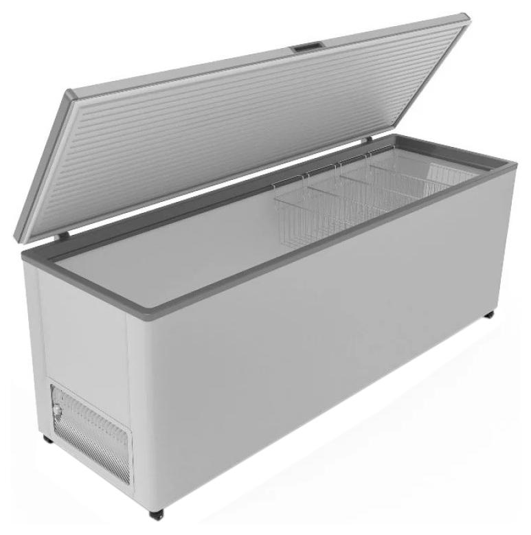 Морозильный ларь Frostor F 500 S Grey