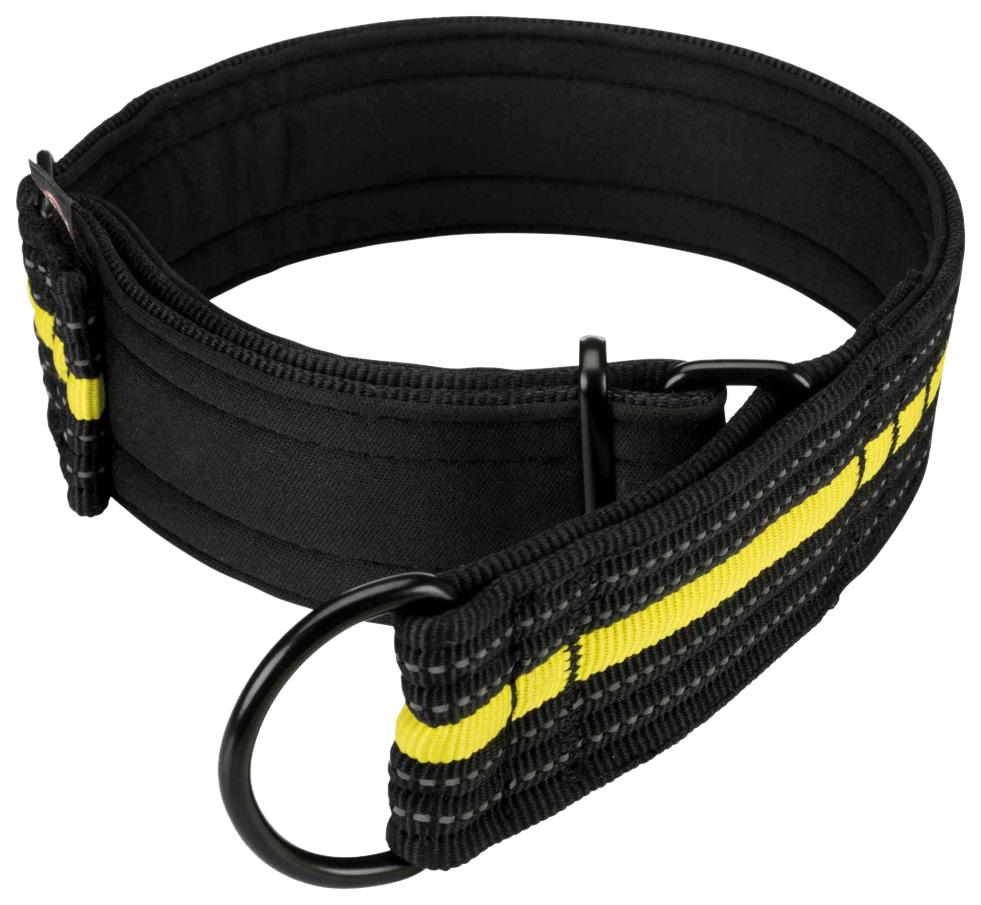 Ошейник для собак Trixie Fusion Sporting M черный/желтый 192 г 207309