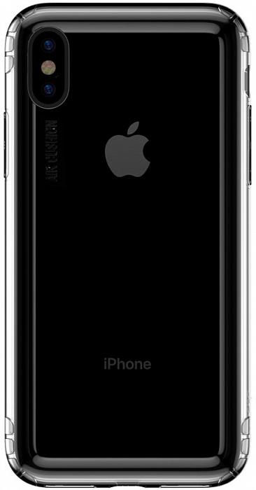 Чехол Baseus Safety Airbags (ARAPIPH65-SF02) для iPhone Xs Max (Transparent)