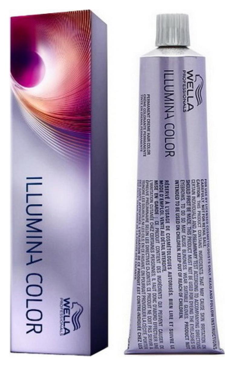 Краска для волос Wella Illumina Color 7/35 Блонд золотисто-махагоновый 60 мл