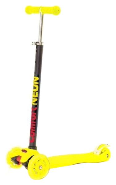 Кикборд Slider Randy Flash светятся колеса желтый