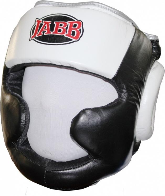 Боксерский шлем Jabb JE 2091 серый/черный XL