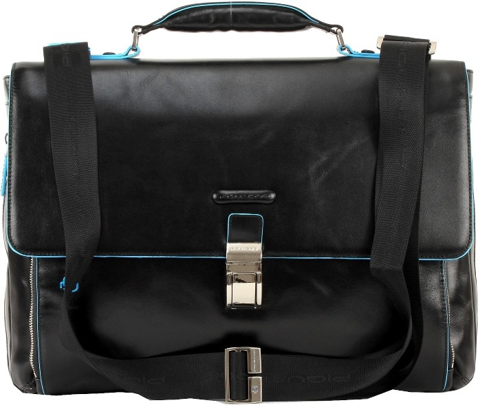 Портфель кожаный Piquadro B-Square черный