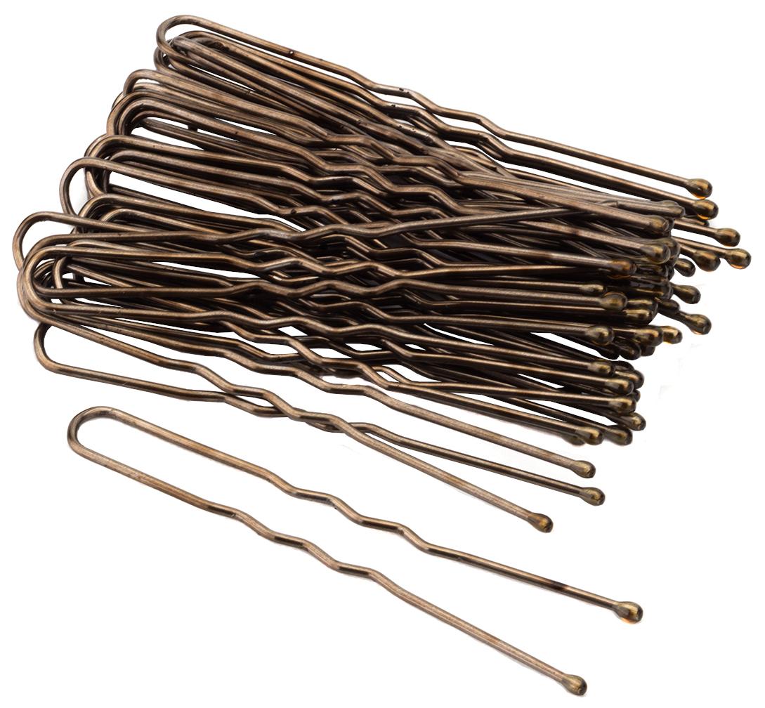 Набор шпилек для волос Гурмандиз Коричневый