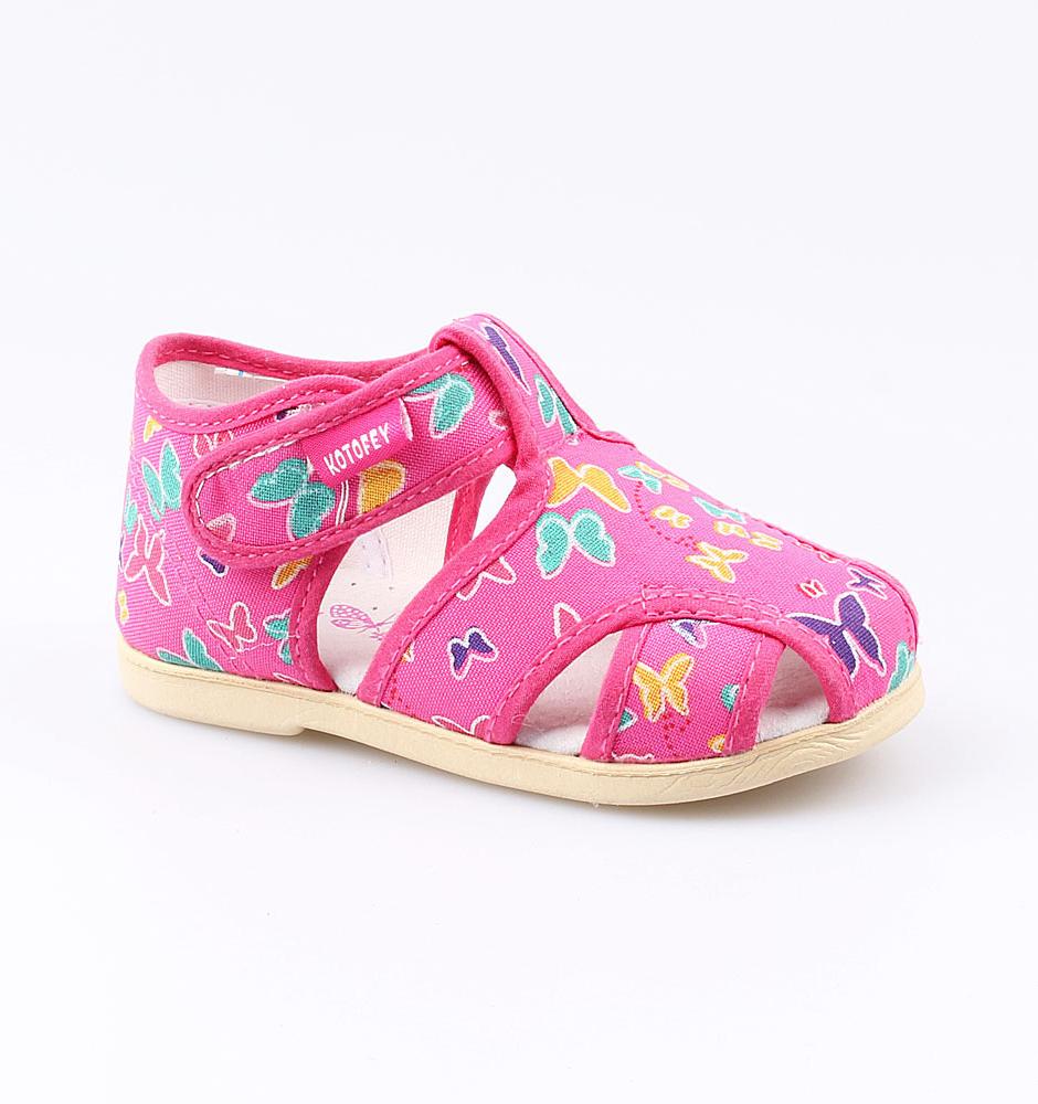 Текстильная обувь Котофей 221033-71 для девочек р.24