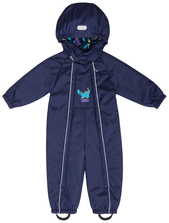 Купить Комбинезон утепленный для мальчика Barkito темно-синий, S18B2001P(2) р.86, Детские комбинезоны зимние