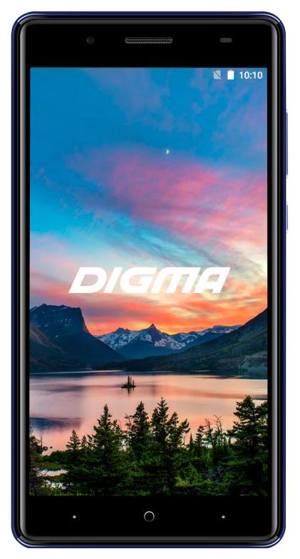 Смартфон Digma HIT Q500 3G 8Gb Blue фото