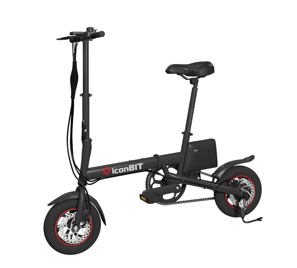 Электровелосипед iconBIT E-Bike K9 2019 One Size black