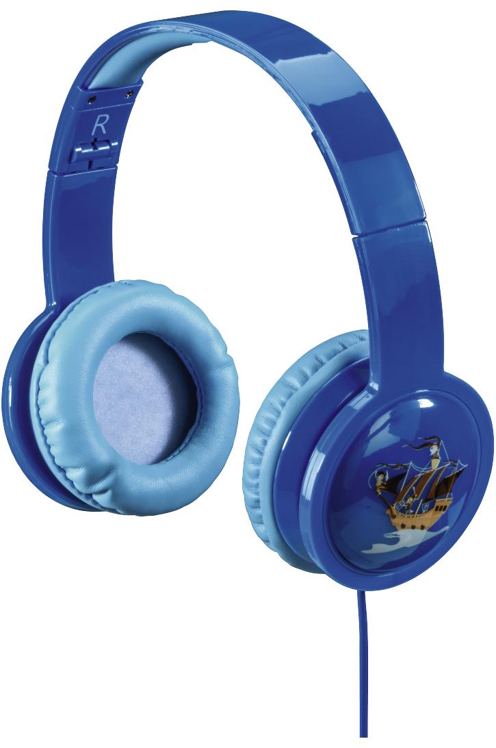 Наушники Hama Blink`n Kids Blue 00135663