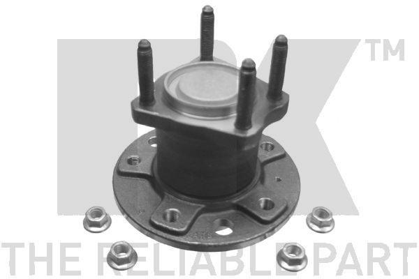 Комплект подшипника ступицы колеса NK 763616