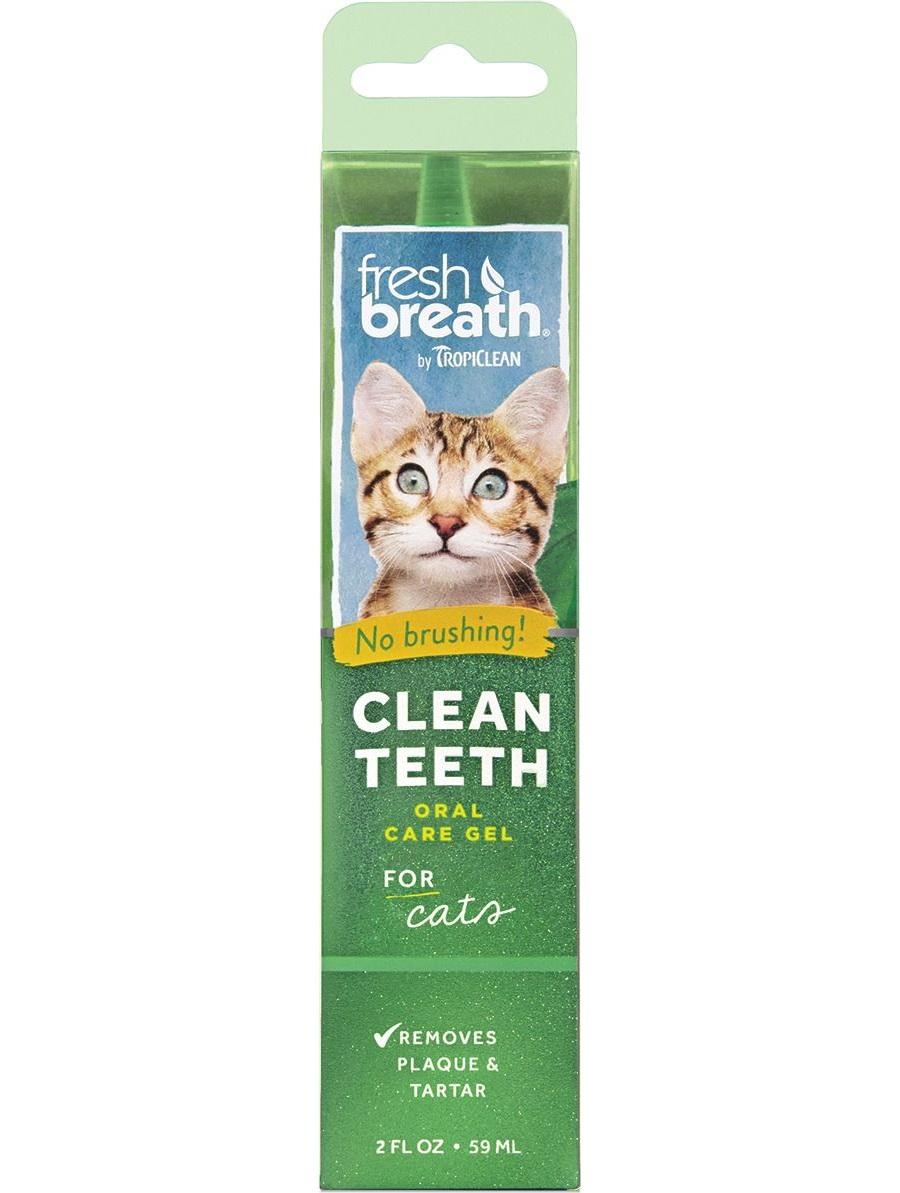 Гель для чистки зубов TROPICLEAN для кошек,