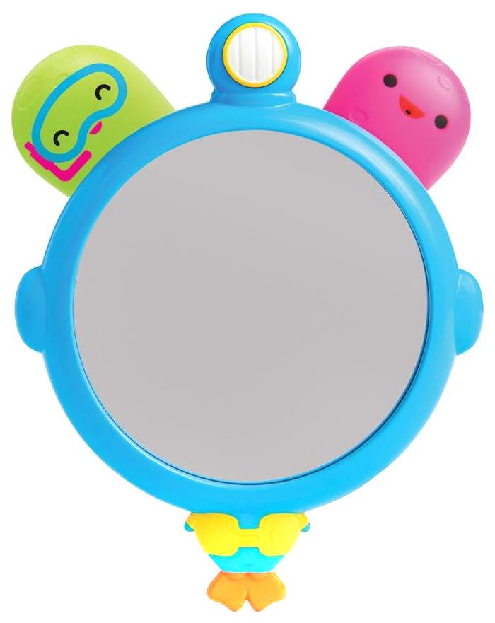 Купить Набор игрушек для ванной Munchkin Зеркало и брызгалки осьминожки, Игрушки для купания