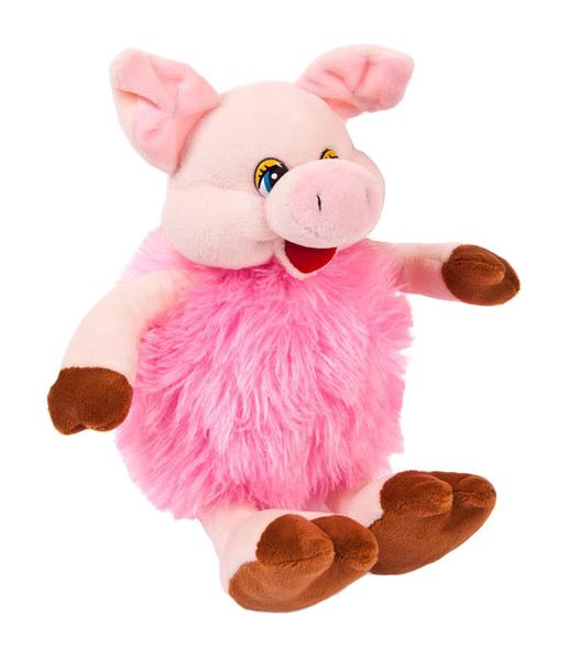 Мягкая игрушка Chuzhou Greenery Свинка розовая 19583
