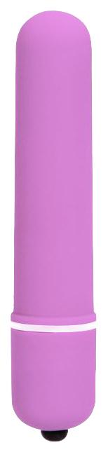 Вибропуля Baile вытянутая розовый 10,2 см