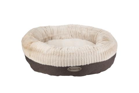 Лежак круглый для собак Scruffs ELLEN 75 х 75 х 19 серый