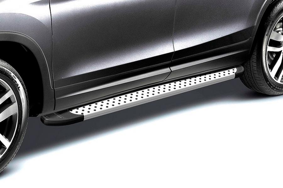 Комплект алюминиевых порогов Arbori Standart Silver 2000