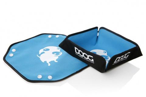 Миска для собак дорожная складная DOOG 300мл, синяя