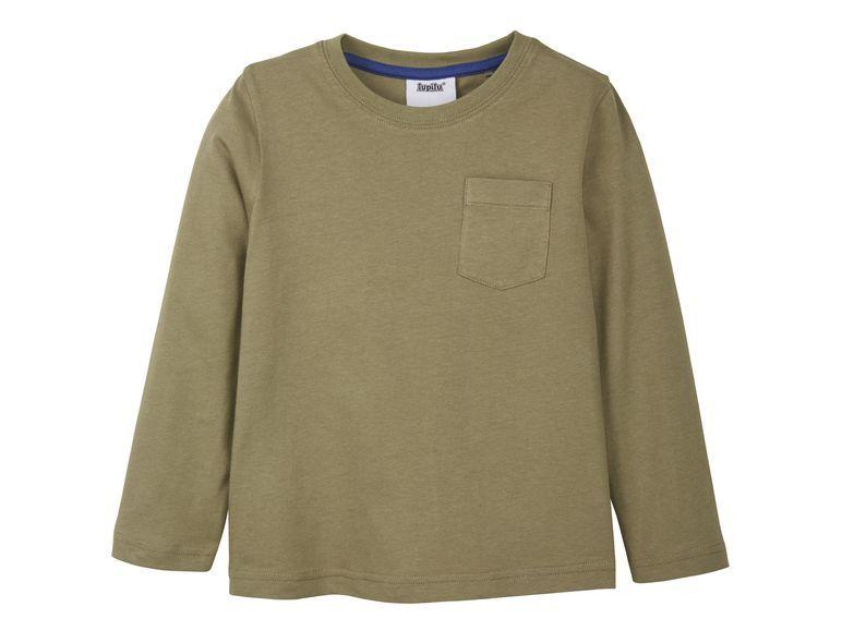 Купить Джемпер для мальчика Lupilu р.86-92 зеленый, Детские джемперы, кардиганы, свитшоты
