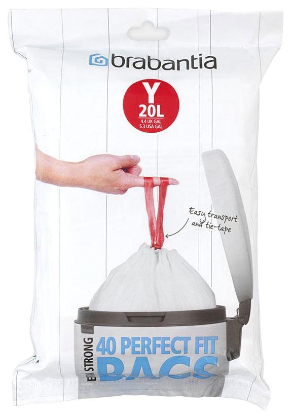 Пакет пластиковый Brabantia 20 л 40 шт