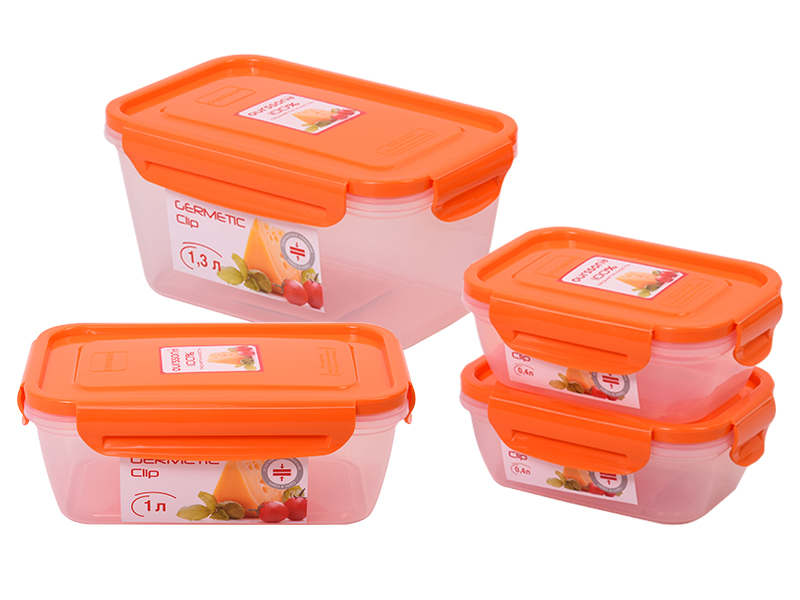 Набор пластиковых контейнеров CP041013/OR