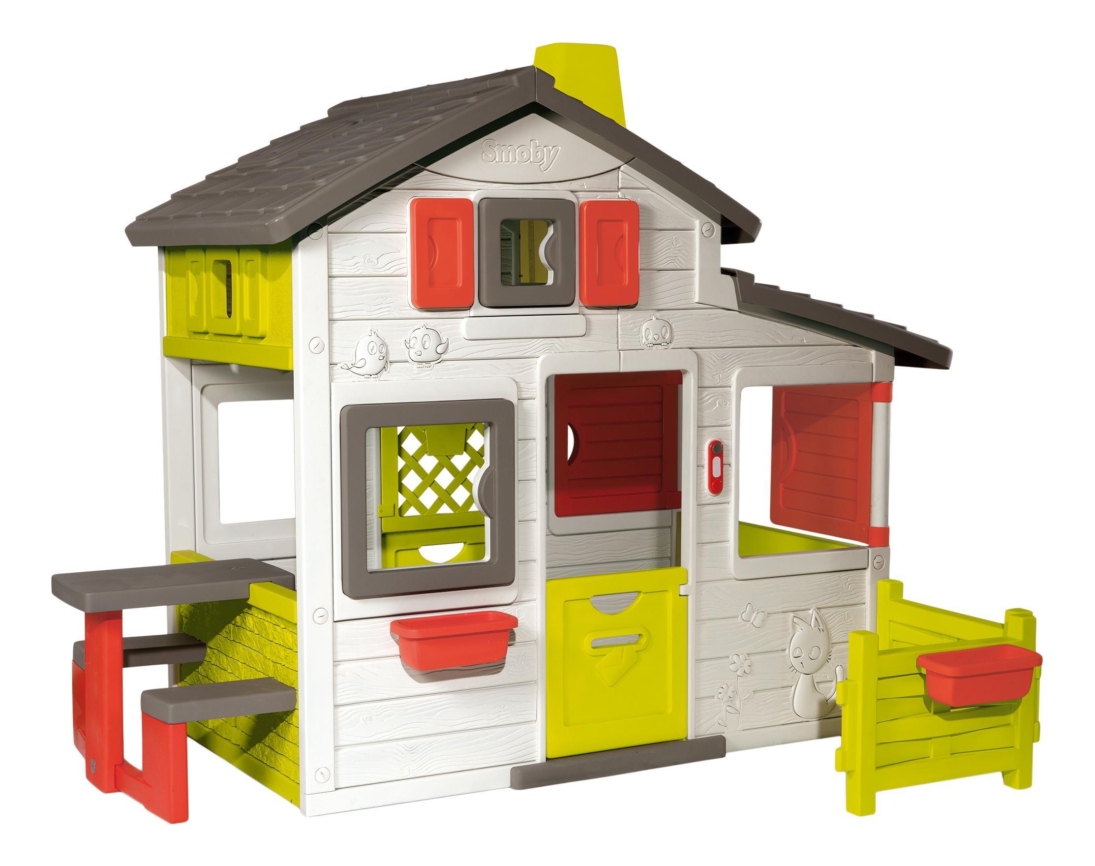 Купить Домик для друзей 212*157*172 см., 1/1, Smoby, Игровые домики
