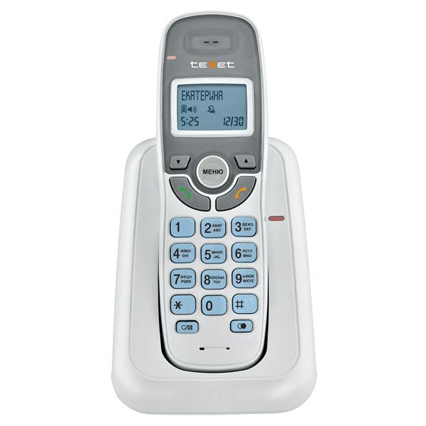 Телефон DECT teXet TX D6905A White