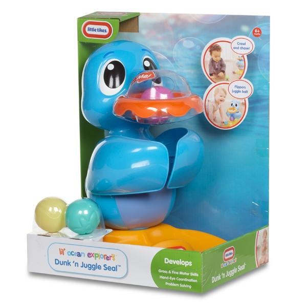 Купить Игрушка Little Tikes Морской лев со звуковыми эффектами 638480, Интерактивные мягкие игрушки