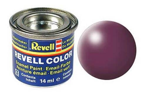 Эмалевая краска пурпурно-красная рал 3004 шелково-матовая